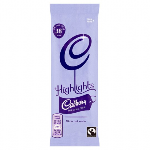 Cadbury - Highlights - milk chocolate - single portion sachets online